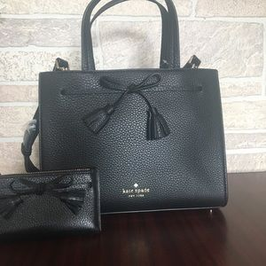 Kate Spade Hayes Small Satchel and wallet bundle